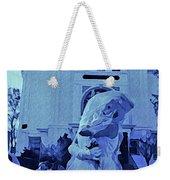 Blue Bride Weekender Tote Bag