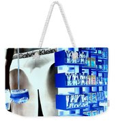 Blue Briefs Weekender Tote Bag