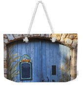 Blue Cafe Doors Weekender Tote Bag