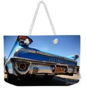 Blue Car Bumper Havana Weekender Tote Bag