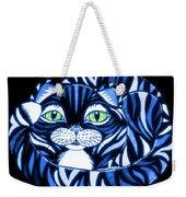 Blue Cat Green Eyes Weekender Tote Bag
