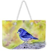Blue Chaffinch Weekender Tote Bag