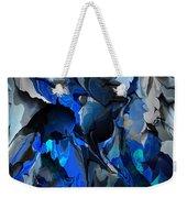Blue Chaos Weekender Tote Bag