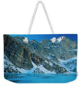 Blue Chasm Weekender Tote Bag by Eric Glaser