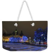 Blue Christmas.. Weekender Tote Bag