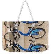 Blue City Bikes Weekender Tote Bag