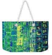 Blue City Weekender Tote Bag
