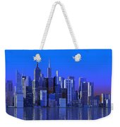 Chicago Blue City Weekender Tote Bag