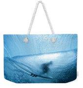 Blue Cocoon Weekender Tote Bag by Sean Davey