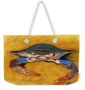 Blue Crab Weekender Tote Bag