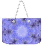 Blue Crystallized 1  Weekender Tote Bag