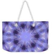 Blue Crystallized 2  Weekender Tote Bag