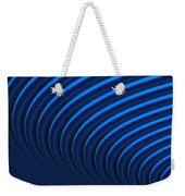 Blue Curves Weekender Tote Bag