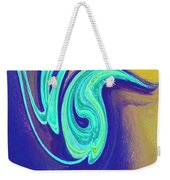 Blue Dance By Jrr Weekender Tote Bag