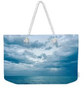 Blue Waves Weekender Tote Bag