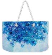 Blue Delphiniums Weekender Tote Bag