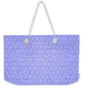 Blue Design Weekender Tote Bag