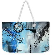 Blue Divinity By Madart Weekender Tote Bag