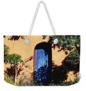 Blue Door At Old Mesilla Weekender Tote Bag