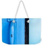 Blue Door Handle Weekender Tote Bag