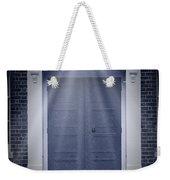 Blue Door Weekender Tote Bag by Svetlana Sewell