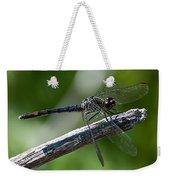 Blue Dragonfly 2 Weekender Tote Bag