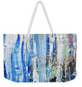 Blue Earth Abstract Weekender Tote Bag
