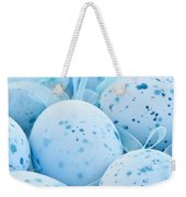 Blue Easter Eggs Weekender Tote Bag