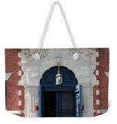 Blue Entrance Door Weekender Tote Bag