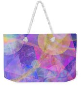Blue Expectations - Square Version Weekender Tote Bag