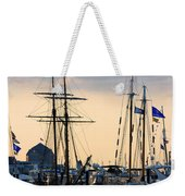 Blue Flags Weekender Tote Bag