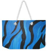 Blue Flames Of Healing Weekender Tote Bag