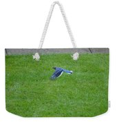 Blue Flight Weekender Tote Bag