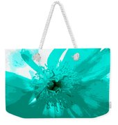 Blue Flower Weekender Tote Bag