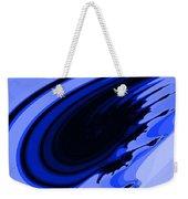 Blue Fractal Weekender Tote Bag