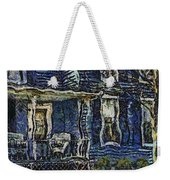 Blue Front Porch Photo Art 04 Weekender Tote Bag