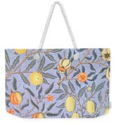 Blue Fruit Weekender Tote Bag