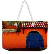 Blue Gate In Santa Fe Weekender Tote Bag
