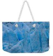 Blue Glacier Weekender Tote Bag