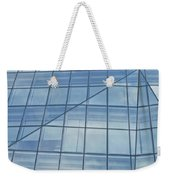 Blue Glass Chicago Facade Weekender Tote Bag
