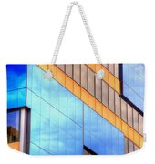 Blue Glass Reflections 4999 Weekender Tote Bag