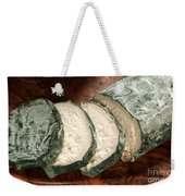 Blue Goat Cheese Weekender Tote Bag