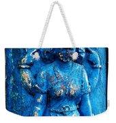 Blue Goddess Weekender Tote Bag