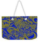Blue Gold 40 Weekender Tote Bag