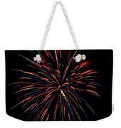 Blue Gold Pink And More - Fireworks And Moon Weekender Tote Bag
