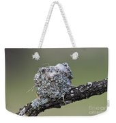 Blue-gray Gnatcatcher Nest Weekender Tote Bag