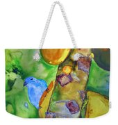 Blue Gray Tanager Weekender Tote Bag