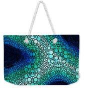 Blue Green Energy - Stone Rock'd Art Panting Weekender Tote Bag