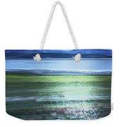 Blue Green Landscape Weekender Tote Bag