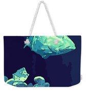 Blue Grouper Weekender Tote Bag